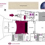 Nouveau Plan situation Salle spectacles 1ère superficie