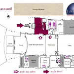 Plan situation Hall d'accueil